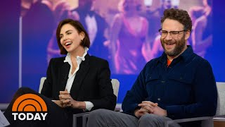Charlize Theron And Seth Rogen On Teaming Up For 'Long Shot' | TODAY