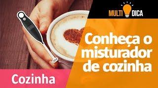 Como fazer cappuccinos deliciosos com o misturador de cozinha