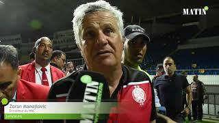 Zoran Manojlovic satisfait de la victoire du WAC