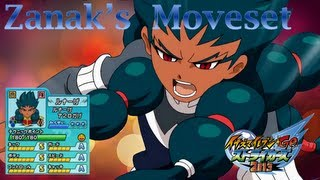 Zanark's Moveset In Inazuma Eleven Go Strikers 2013