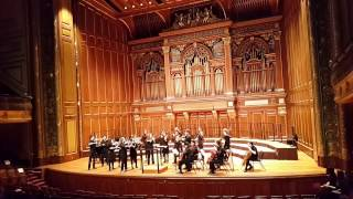 New England Conservatory SCO- Bach, Air