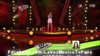 Kerem Santoyo Dejame volver contigo  La voz Mexico 3 Semifinal show en vivo