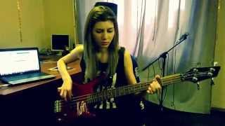 Muse – Hysteria (cover bass)