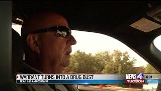 Warrant leads to drug bust on Northwest Side
