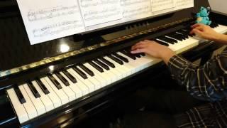 【Piano】深愛 / 水樹奈々(アニメ『WHITE ALBUM』主題歌)