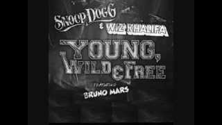 Wiz Khalifa Ft Snoop Dogg - Young Wild & Free (With Lyrics)