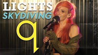 Lights - Skydiving (LIVE)