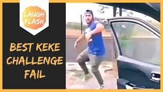 Best Keke Challenge Yet? 😂😳 Guy Dances Into Pole Meme