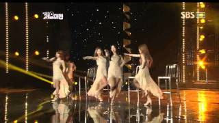 Wondergirls - Be My Baby (원더걸스-비마이베이비) @SBS MUSIC FESTIVAL 가요대전 20111229
