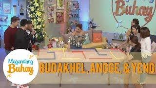Magandang Buhay: Yeng & Angeline vs. BuDaKhel | One-minute challenge