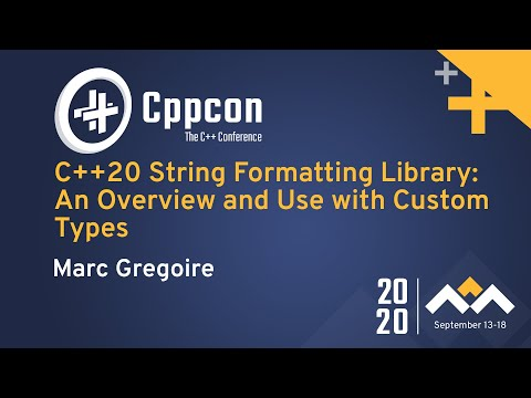 C++20 String Formatting Library: An Overview and Use with Custom Types