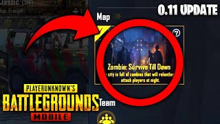 PUBG Mobile 0.11 Update is Here! - Zombie Mode Release Date & Update ALL EXPLAINED!