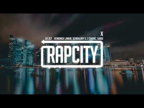 Kendrick Lamar - X (ft. ScHoolboy Q, 2 Chainz & Saudi)