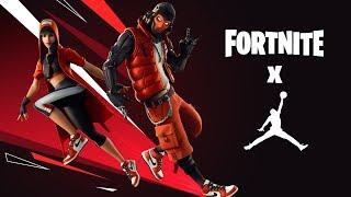 Fortnite X Jumpman