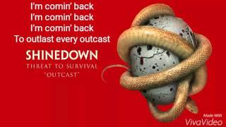 Shinedown - Outcast Lyrics