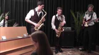 Booty Swing (Parov Stelar Cover) live - The SaxoSwing Combo