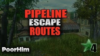 Cod4 Remastered Pipeline Escape Routes!!!