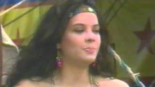 Chamada de estréia da novela Kassandra no Brasil - SBT