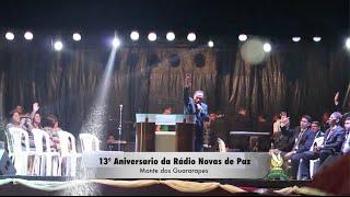 Jadeilson Sanloz - Santidade  - 13º Aniversário da Rádio Novas de Paz