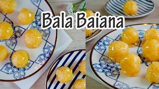 BALA BAIANA (bala de coco) I Receitas e Temperos