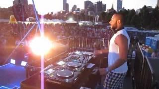 DJ Kam Shafaati @ Midsumma T Dance Melbourne 2012 playing Set Fire To The Rain