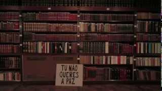 """Clã - """"A Paz Não Te Cai Bem"""" (Lyrics video)"""