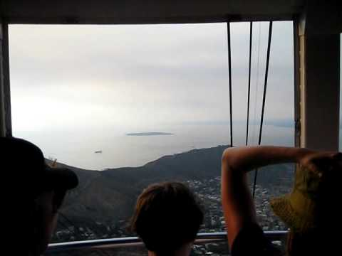 South Africa – Cape Town – Cable Car to the Table Mountain