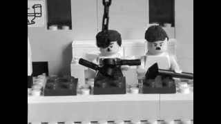 Lego Charlie Chaplin Modern Times