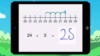 Video 13 Con la ayuda de la recta numérica, encuentra el resultado de la suma Ejemplo 1
