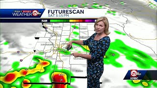 First Alert: Rain possible for your Saturday