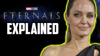 Marvel's Eternals Explained - Plus Guardians of the Galaxy Crossover!