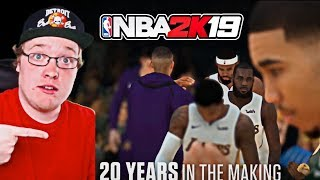 NBA 2K19 First Look Trailer Reaction | Not Impressed
