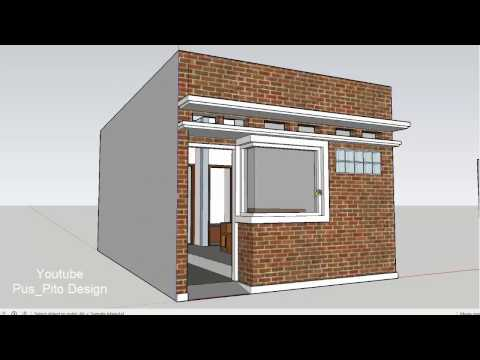 Download Video Eps 08 Desain Rumah - Mikro House Sederhana Ukuran 4x7 Meter