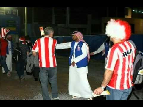 Takatof Volunteers at FIFA Club World Cup UAE 2009    متطوعو تكاتف