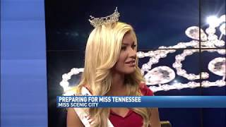 Christine Electra Williamson Miss Scenic City Channel 9 Interview with Greg Funderburg