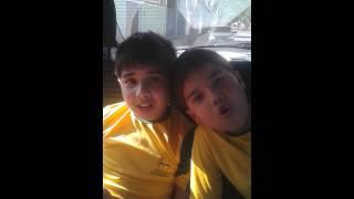 Lucas e Gabriel Noronha
