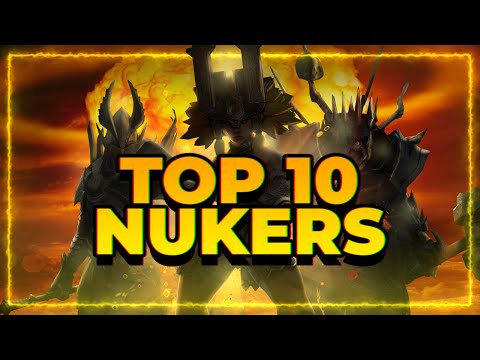 TOP 10 AoE Damage Dealers! | RAID Shadow Legends