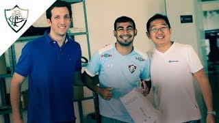 FluTV - Flu faz parceria pioneira no futebol com a Bauerfeind