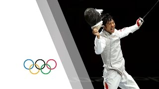 Lei Sheng Win's Men's Individual Foil Gold - London 2012 Olympics