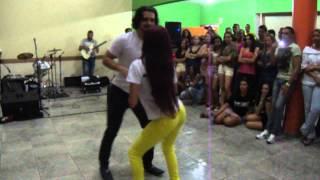 Festa TOP Danças - Samuel Paula e Aisha Dincer - Bachata Improviso