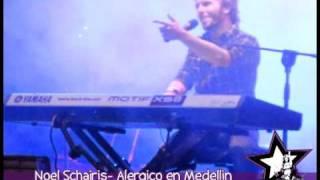 NOEL SCHAJRIS Canta Alergico en Medellin Colombia