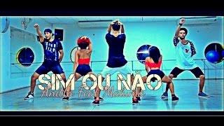 Sim ou Não - Anitta Ft  Maluma (Dance Vídeo) Thi Play Dance (Coreografia)
