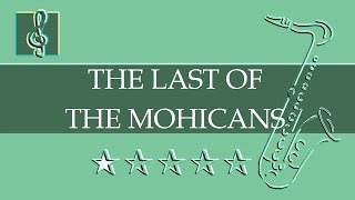 Alto Sax & Guitar Duet - Promentory - The Last of the Mohicans Theme (Sheet music - Guitar chords)