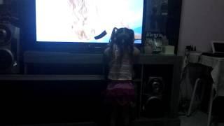 Novinha fazendo videos
