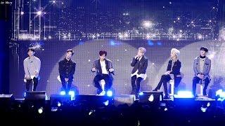 170313 갓세븐 (GOT7) - Q [전체] 직캠 Fancam (V LIVE컴백기념 생방송) by Mera