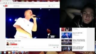 Eminem live at BET 2000 REACTION