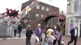 Poole High Street Level Crossing Dorset 01/06/16