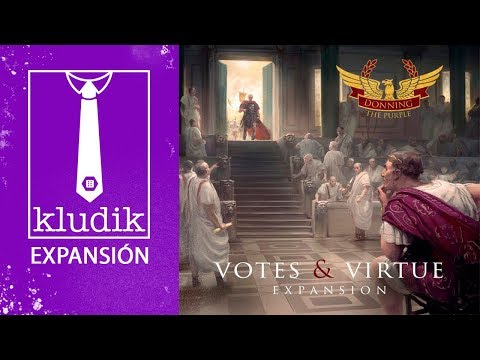 Reseña Donning the Purple: Votes & Virtue expansion