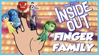 Inside Out Finger Family | Disney Pixar Inside Out Finger Family Song | Finger Family Nursery Rhyme