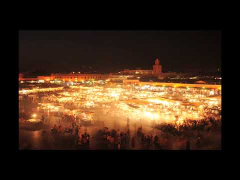 Djemaa el Fna, Marrakech, Morocco – Time Lapse